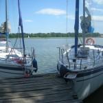 Obóz żeglarski na Mazurach