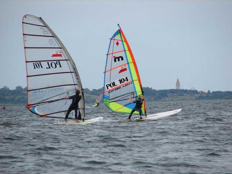 Windsurfing na Zatoce Puckiej